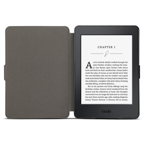 Smart Magnetic Sleep/Wake Flip Case - Amazon Kindle Paperwhite - Black